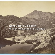 1865 Mallital without Naina Devi Temple