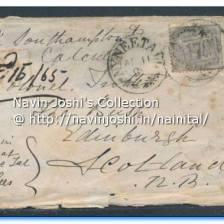 1865 NYNEETAL Post card