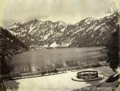 1870s. Naini Tal in winter from Tali Tal by John Edward Sache