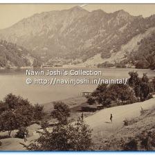 1885 Nainital lake