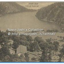 Bird Eye view of Nainital