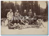 Jim Corbett with Hunters