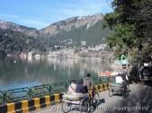 Mall Road with Naini Lake