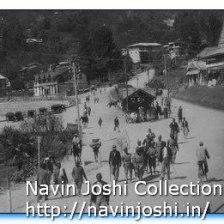 Old Mallital Rickshaw Stand