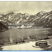 Nainital with snow