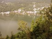 Rainbow over Naini Lake