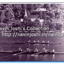 Rowing in Naini Lake