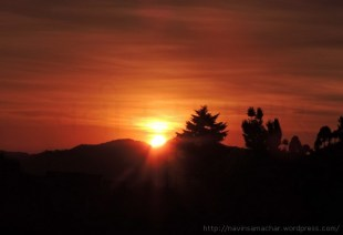 Sunset from Gangolihat1