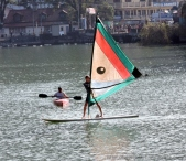 Water Surfing @ Naini Lake !