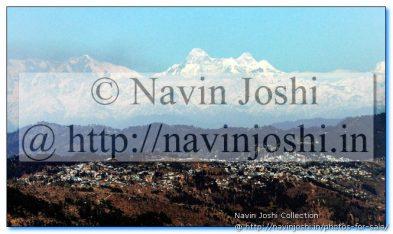 Nanda Devi Peaks of Himalaya, Watching Almora City