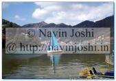 Yachts in Naini Lake