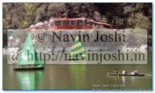 Yachts in Naini Lake near Pashandevi