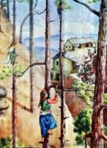 पेड़ों पर टिकी पहाड़ी महिलाओं की जिंदगी