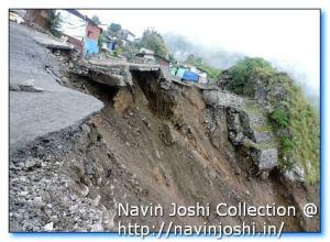 Nainital Land Slide 10th September 2014