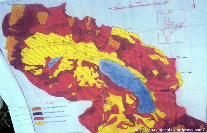 Nainital Zone Map