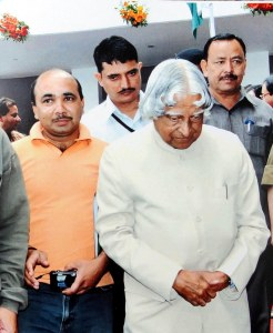 With APJ Abdul Kalaam