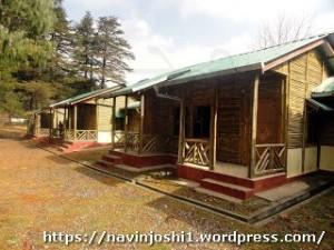 Bamboo Huts at Maheshkhan